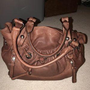 Authentic B Makowsky Leather Bag!